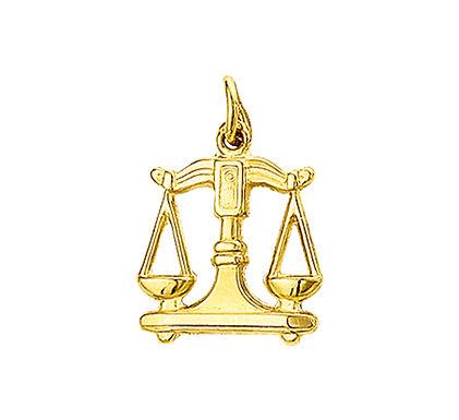 Gouden Sterrenbeeldhanger Weegschaal