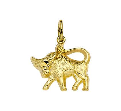 Gouden Sterrenbeeldhanger Stier