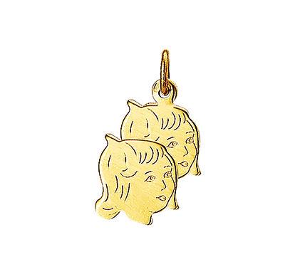 Gouden Kinderhoofdjes meisjes