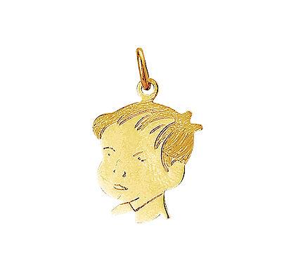 Gouden Kinderhoofdje jongen