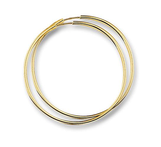 Gouden Oorringen 16 mm