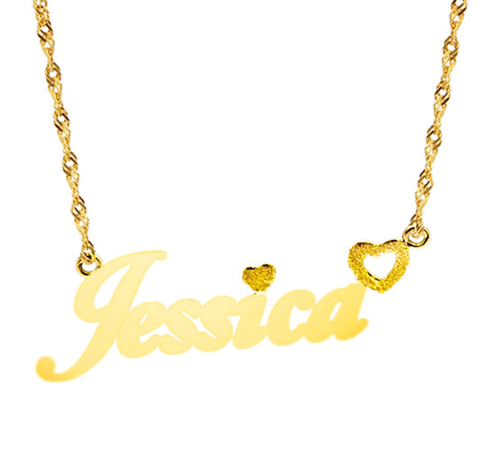 Naamketting Jessica 7 letters