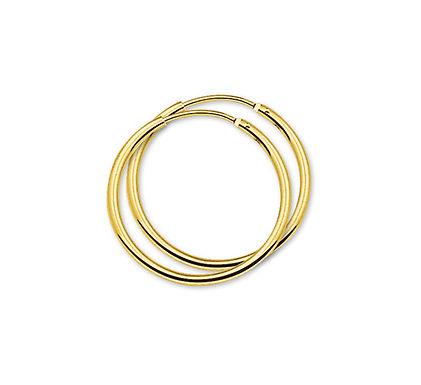 Gouden Oorringen 25 mm