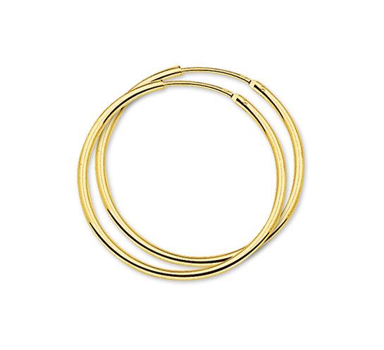 Gouden Oorringen 32 mm