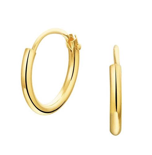 Gouden Oorringen 11 mm