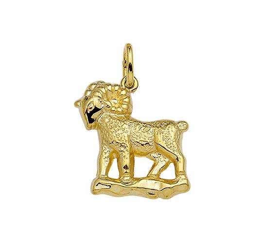 Gouden Sterrenbeeldhanger Ram