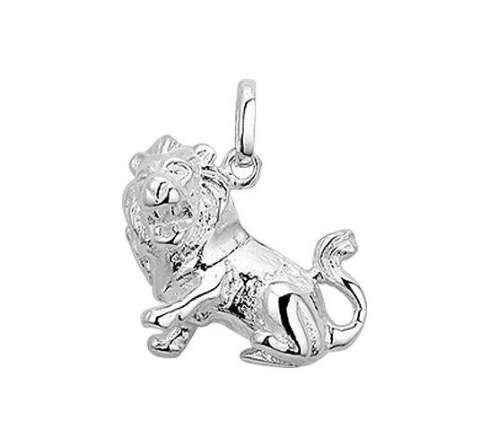 Zilveren Sterrenbeeldhanger Leeuw