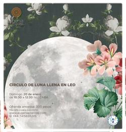Calendario Lunar Enero