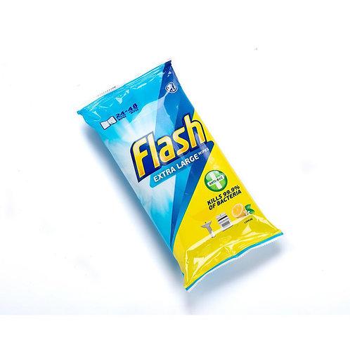 Flash wipes