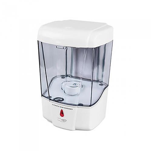 Clear automatic soap dispenser