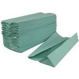Green C-fold Hand Towel