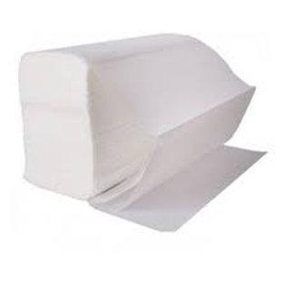 White V-fold Hand Towels