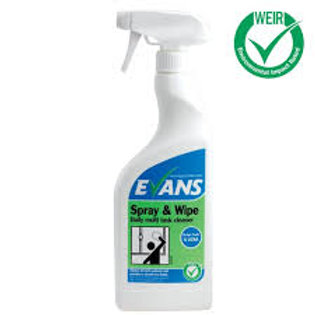 Spray and Wipe 750ml