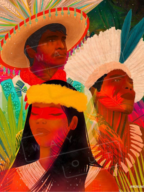 """""""Power To The Land Defenders"""" by Marlene S."""