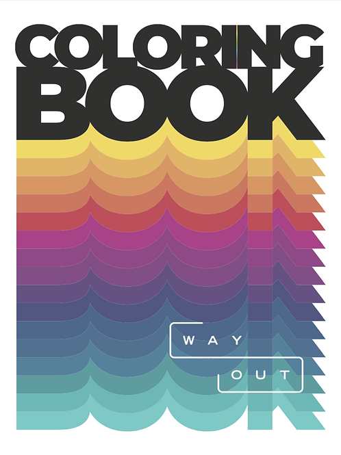 wayOUT Bay Area Digital Coloring Book
