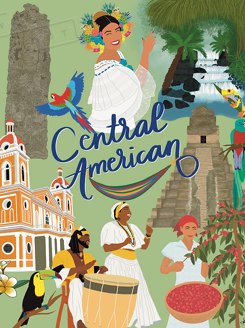"""""""Central American"""" by Annette Funes"""