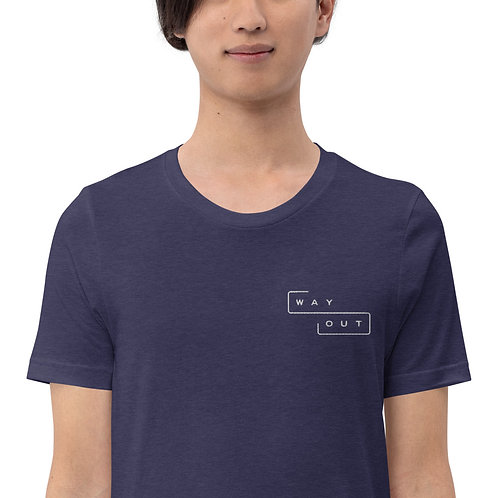 Logo Embroidered Unisex T-Shirt