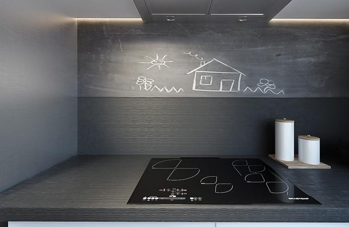 sintonia materiali per la cucina