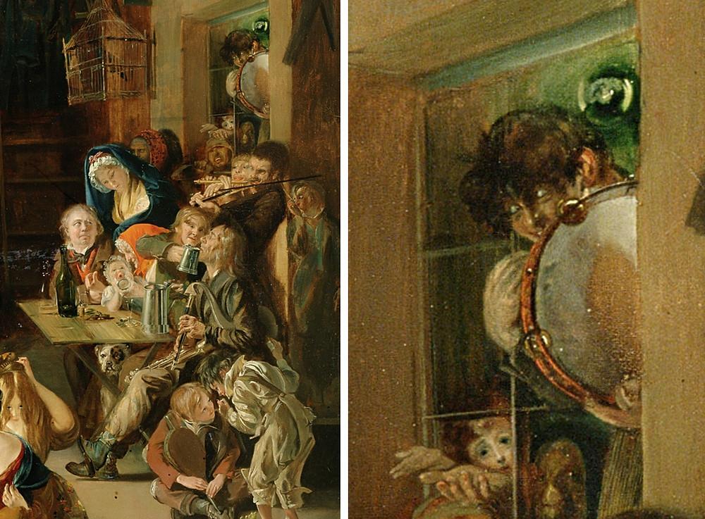 """""""Snap-apples nights. Daniel Maclise. circa 1850"""""""
