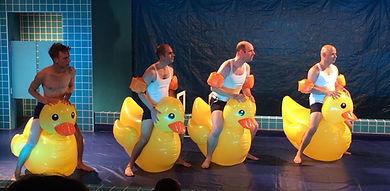 Zwembad, Theatergroep Carver