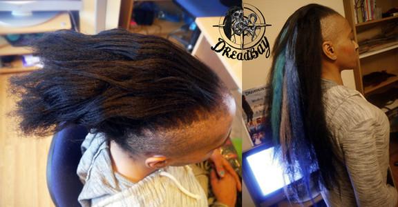 Extending Hair With Dreadlocks
