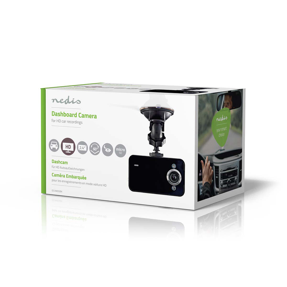 nedis dashcam
