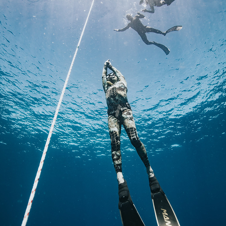 FII Level 1 Freediving Course Oahu: Instructor Neal Tyagi