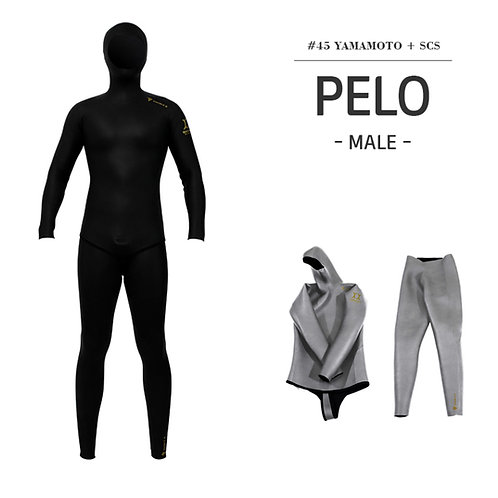 Double K Men's PELO Freediving Wetsuit Yamamoto 45