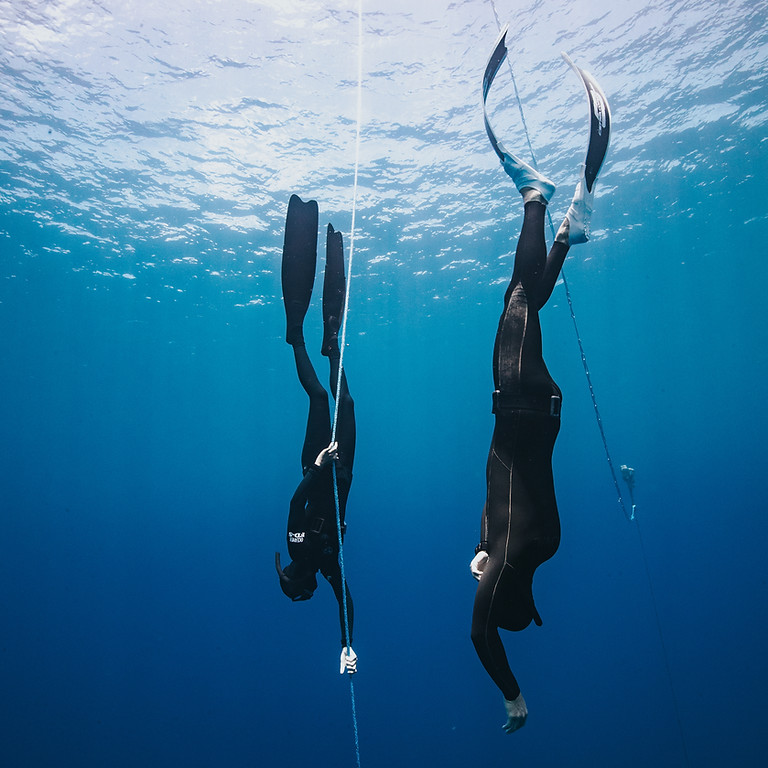 FII Level 1 Freediving Course: Instructors Daniel Koval and Kristin Kuba