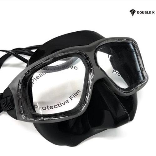 Double K Jaguar R Crystal Mask Black + Grey