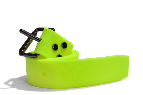 Double K Silicone Weight Belt - Neon Yellow