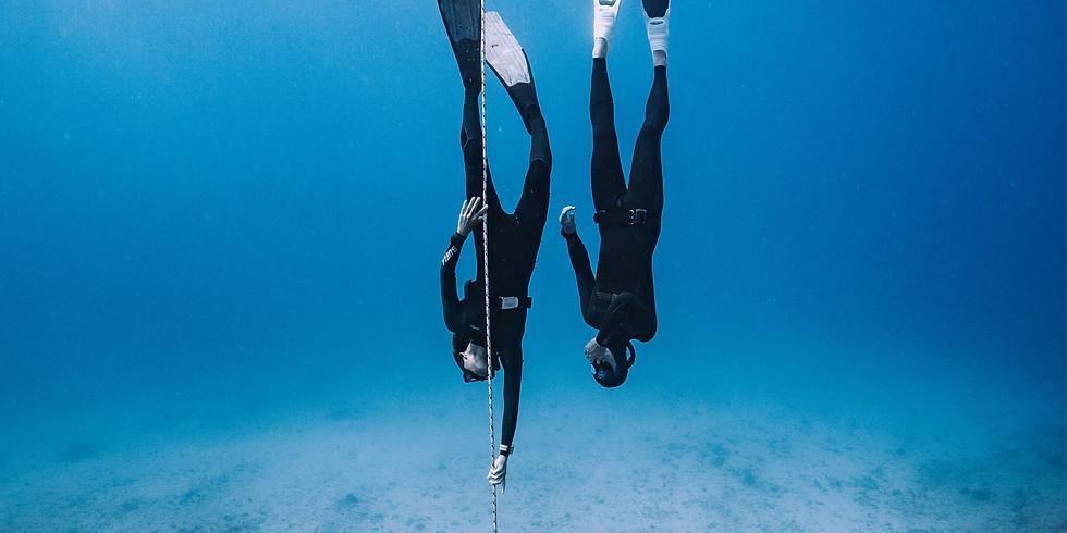 FII Level 1 Freediving Course Oahu: Instructor Neal Tyagi