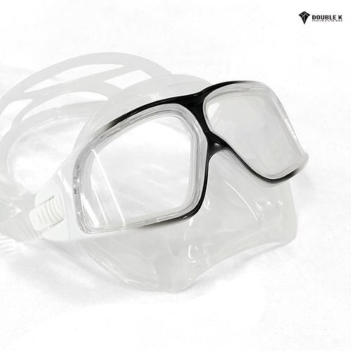 Jaguar R Dalmatian Mask- Clear