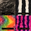 Thumbnail: Reversible Faux Fur Bolero in Your Choice: HOT PINK/RAINBOW/B&W/PURE BLACK