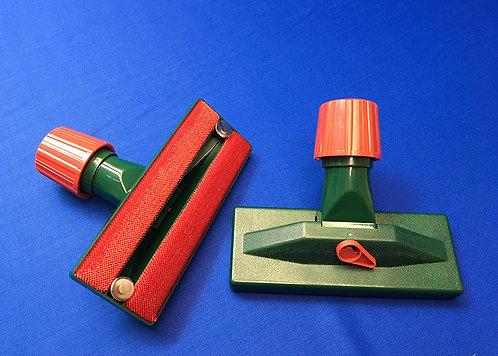 Borstel / Hulpstuk voor Stofzuiger (groen)