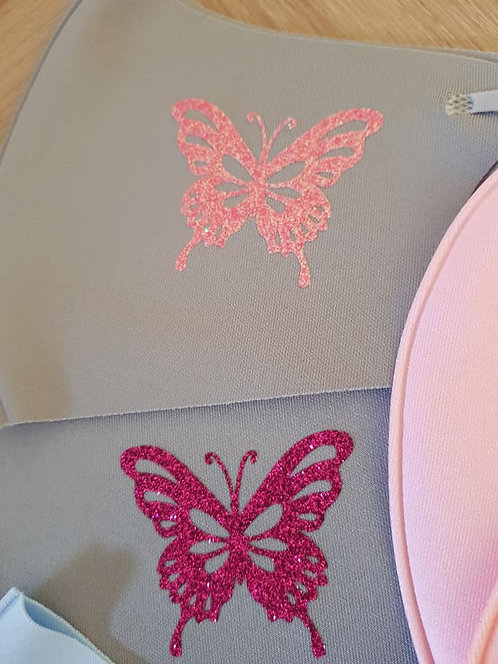 Ice Silk Masker met Vlinder