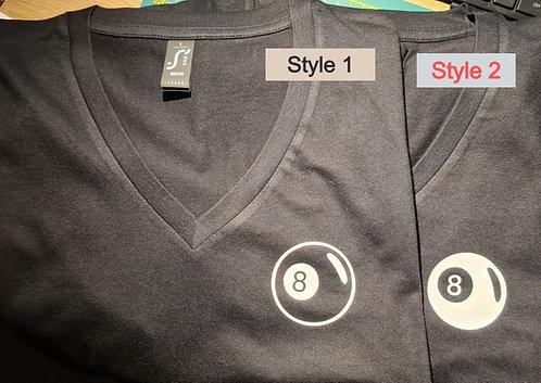 T-Shirt voor Pool Speler