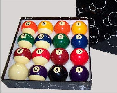 Pool Ballen Universeel 57,2 mm Economy