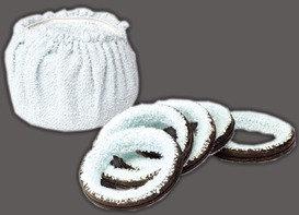 Set ringen voor economy poetsmachine