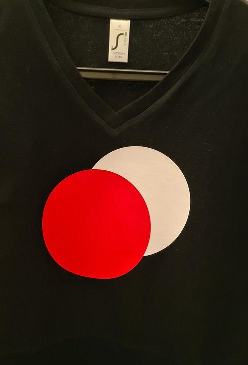 T-Shirt met 2 Ballen