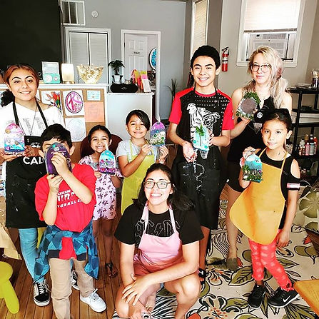 Kids Saturday Morning Art Class_Kids tak
