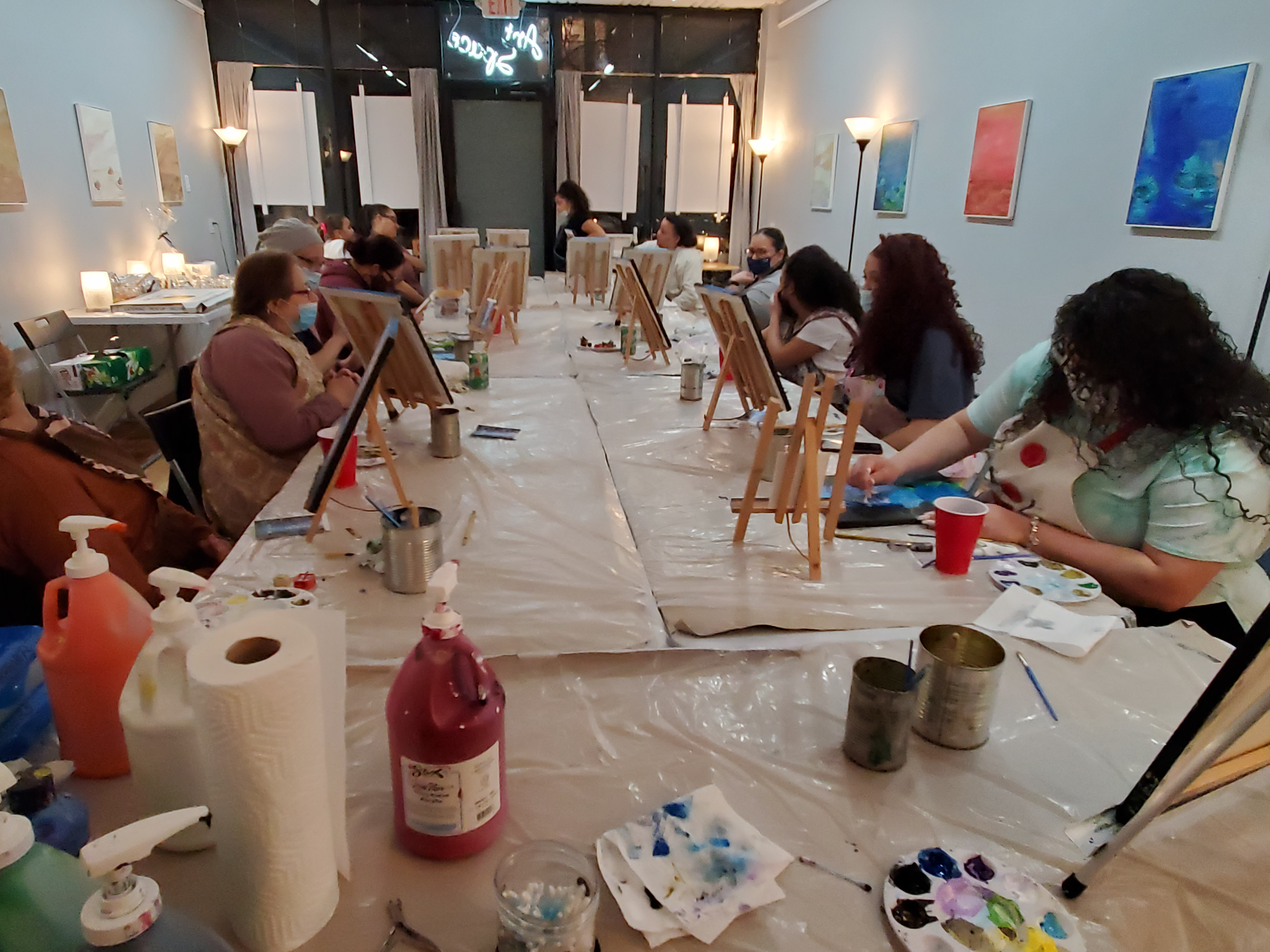 Private Paint and Sip