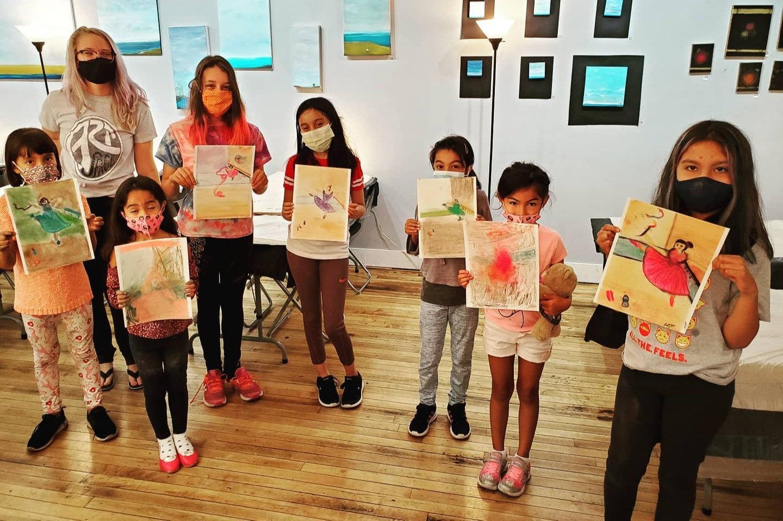 Youth Fine Art Class - Tuesdays