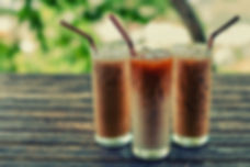 Summer iced coffee (frappuccino, frappe
