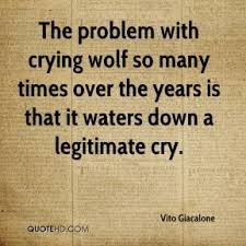 "Why Your PR Strategy May be ""Crying Wolf"""