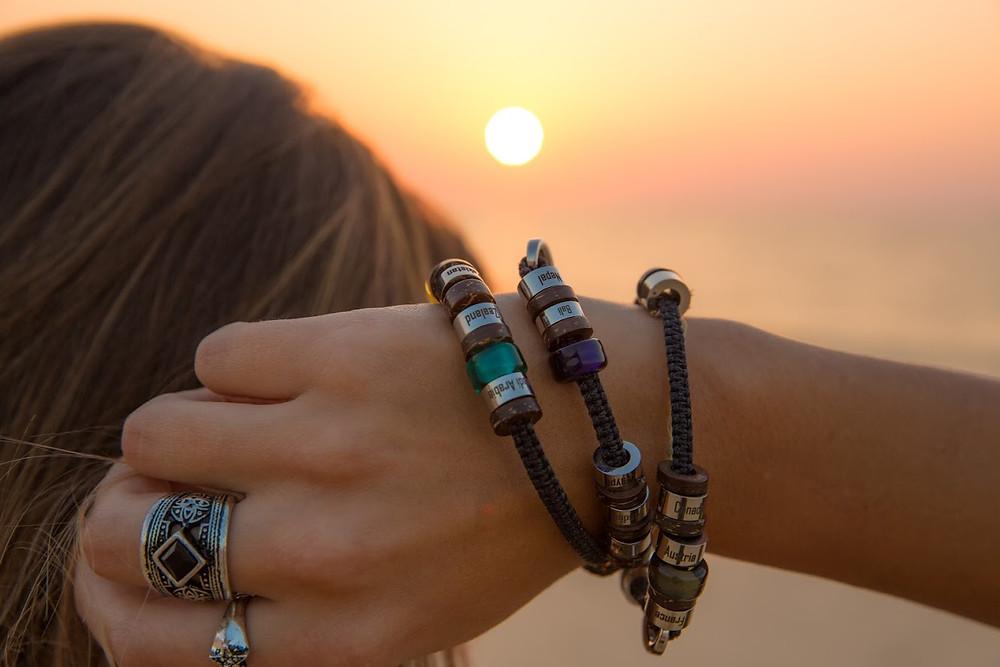 El Camino double bracelet