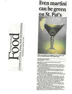 Appletini recipe, Jim Beam Brands DeKuyper Pucker Schnapps, public relations agency, Chicago