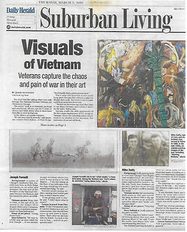 veterans, art therapy, art museum, public relations, Chicago