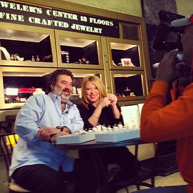 Jewelers Center, public relations, tv media interview