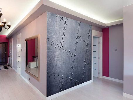 Specialty Wall Finishes Make Huge Impact
